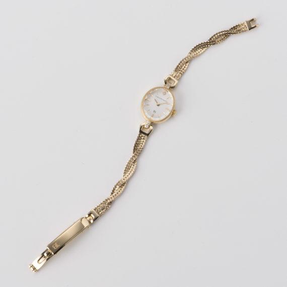 高級感のある2本のフォックステールチェーン - Muguet(ミュゲ): すずらんをモチーフにしたブレスレット型腕時計
