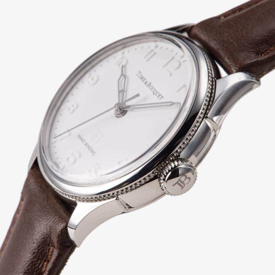 わずか0.65ミリの極細リングに彫り込まれた光の粒 - Nel(ネル): フランネルフラワーをモチーフにした機械式腕時計