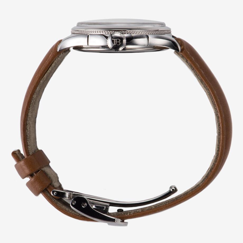 側面 - Nel(ネル): フランネルフラワーをモチーフにした機械式腕時計